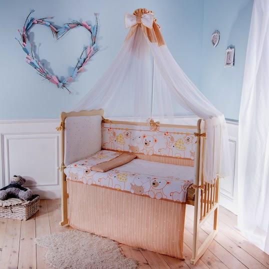 Комплект детского постельного белья Баю-бай Дружба 7 предметов