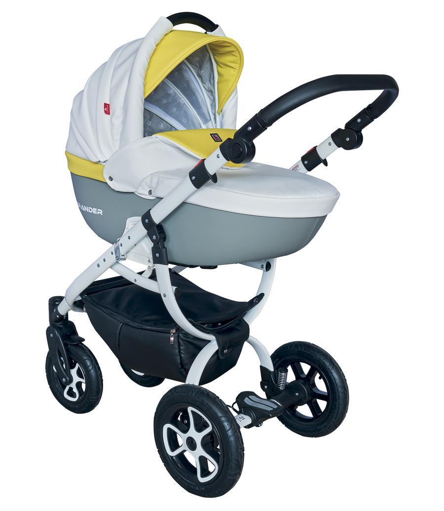 Детская модульная коляска Tutek Grander Play Eco 3в1