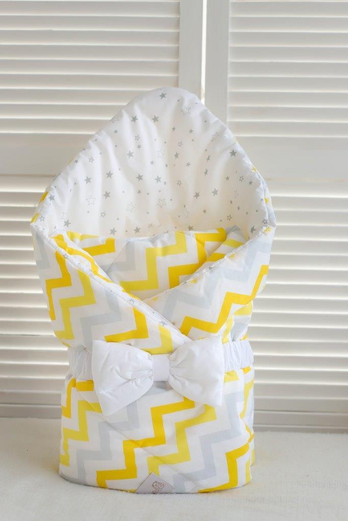 Одеяло-конверт + повязка -бант Martoo Basic