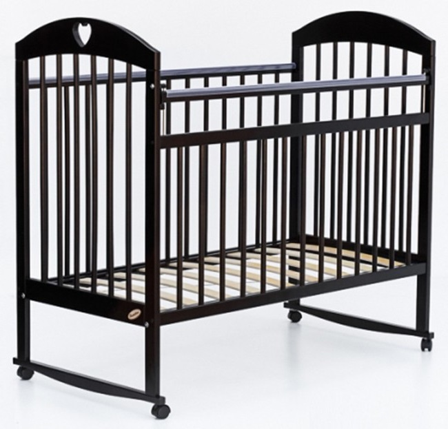 Детская кроватка колесо-качалка Bambini 18 КОМФОРТ