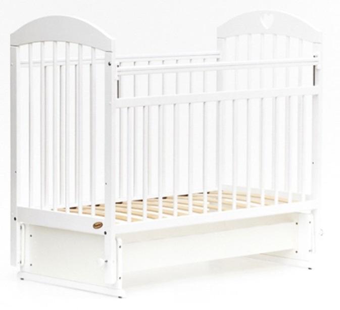 Детская кроватка с мультимаятником поперечного качания Bambini 20