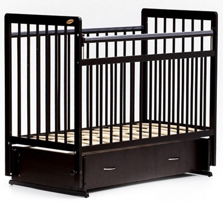 Детская кроватка Bambini Евро Стиль 04