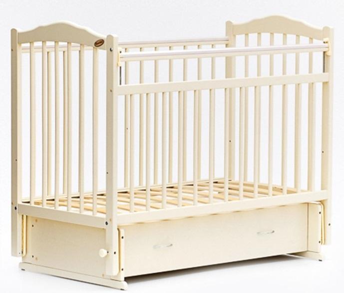 Детская кроватка с мультимаятником поперечного качания Bambini 10