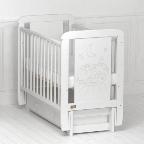 Детская кроватка Kitelli (Kito) Micio - продольный маятник