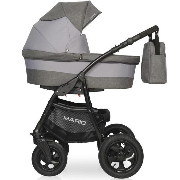 Детская модульная коляска RIKO MARIO 3 в 1