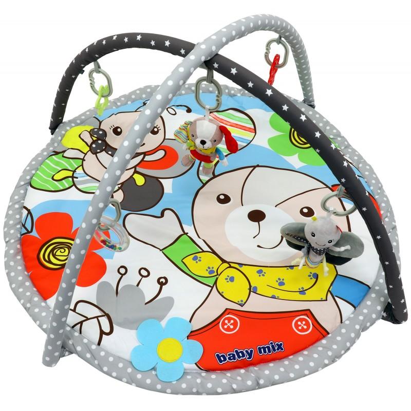 Детский игровой развивающий коврик BabyMix Собачка Арт. 3467
