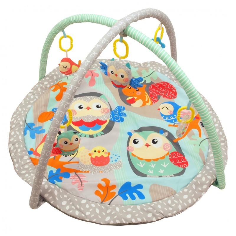 Детский игровой развивающий коврик BabyMix Птички Арт. 3435