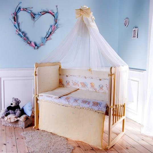 Комплект детского постельного белья Баю-бай Мечта 7 предметов
