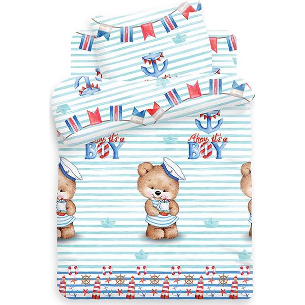 Детское постельное белье iTex «Непоседа» Мишка морячок 549028