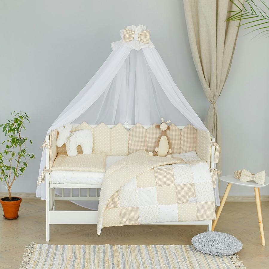Комплект постельного белья Martoo Mosaik 7 белый-беж
