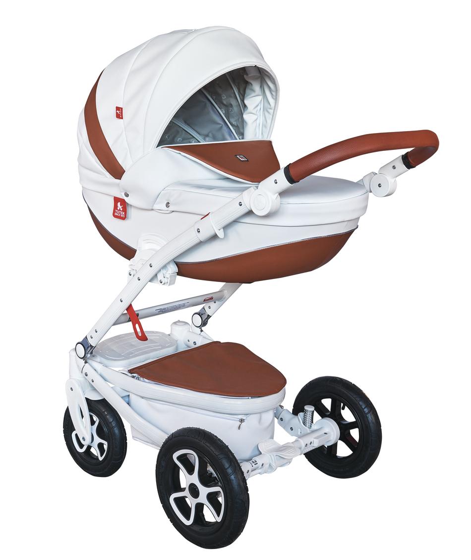 Детская модульная коляска Tutek Timer Ecco 3в1