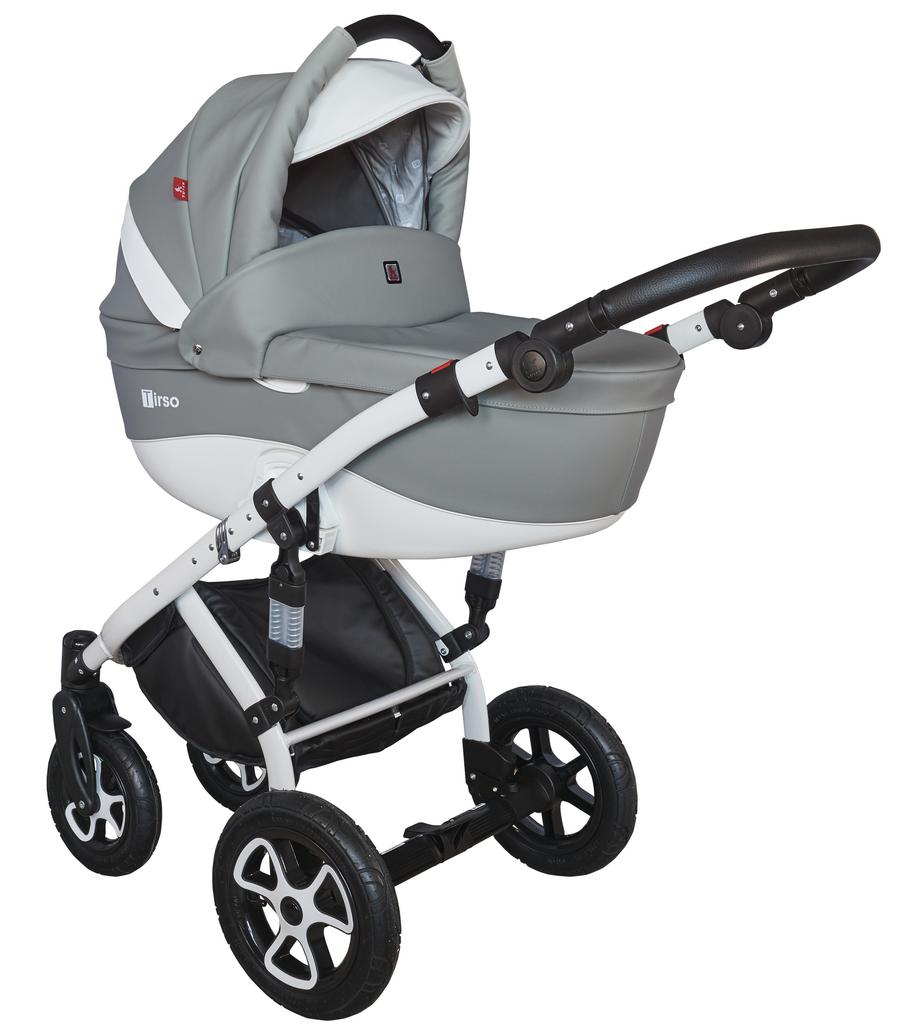 Детская модульная коляска Tutek Tirso Eco 3в1