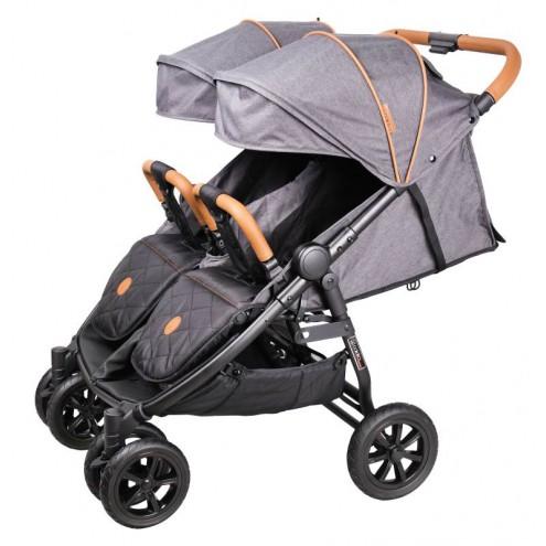 Детская прогулочная коляска для двойни Coletto Enzo Twin