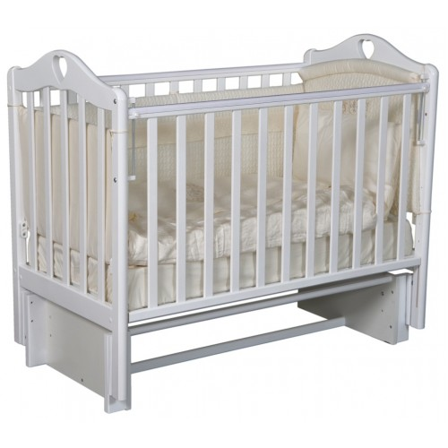 Детская кроватка с универсальным маятниковым механизмом RAY (КЕДР) Grace-2