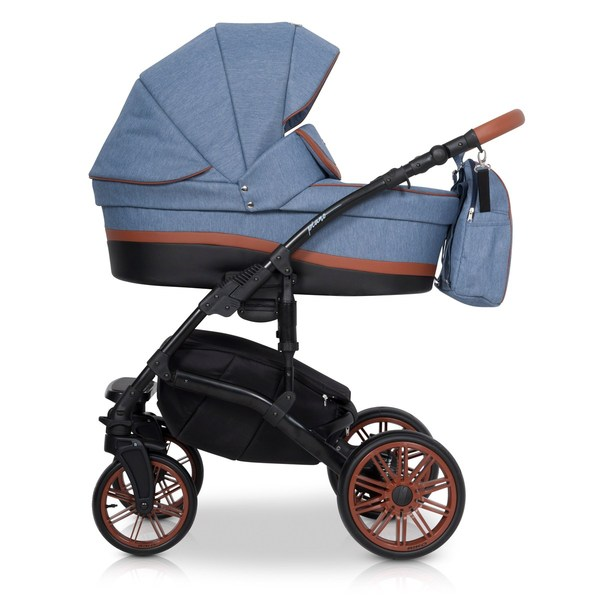 Детская модульная коляска Riko Piano 2в1