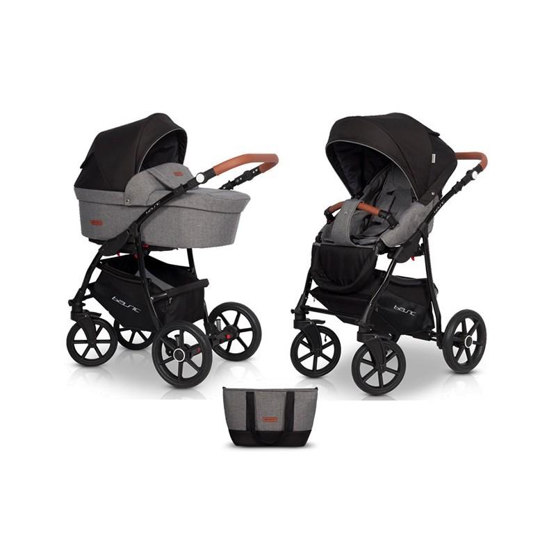 Детская модульная коляска Riko Basic PLUS 2 в 1