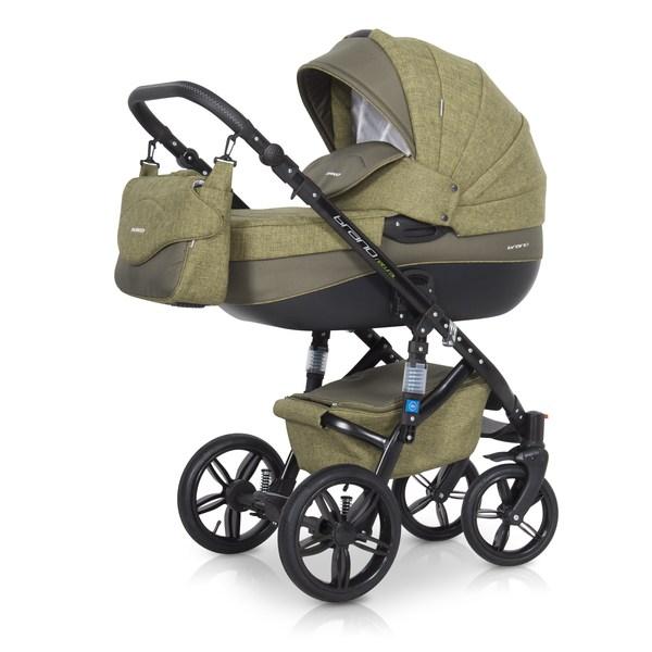 Детская модульная коляска Riko Brano Natural 3 в 1