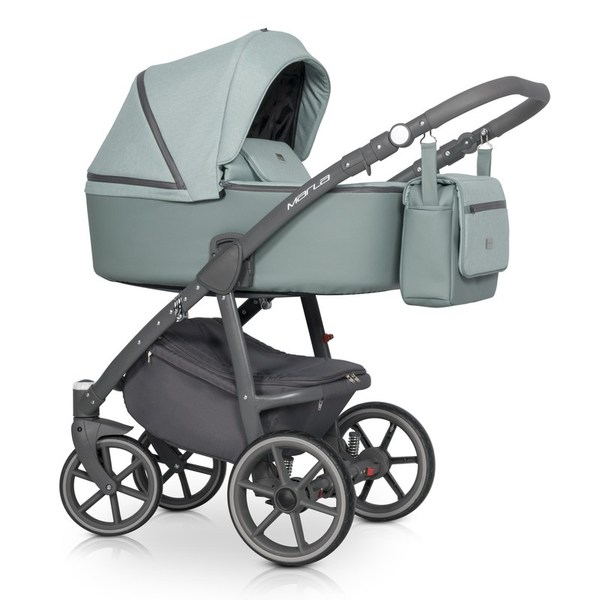 Детская модульная коляска Riko Marla 3в1