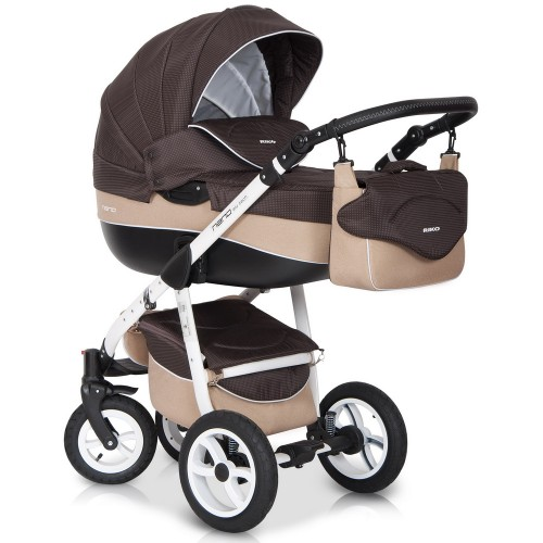 Детская модульная коляска Riko Nano 2 в 1
