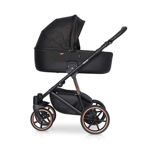 Детская модульная коляска Riko Side 3 в 1