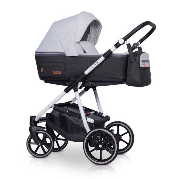 Детская модульная коляска Riko Swift Natural 3 в 1