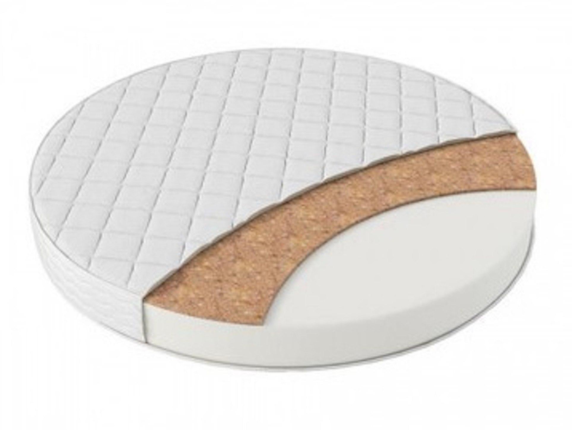 Матрас круглый Inkanto (Холлкон 10см + кокос 1см) 65 см