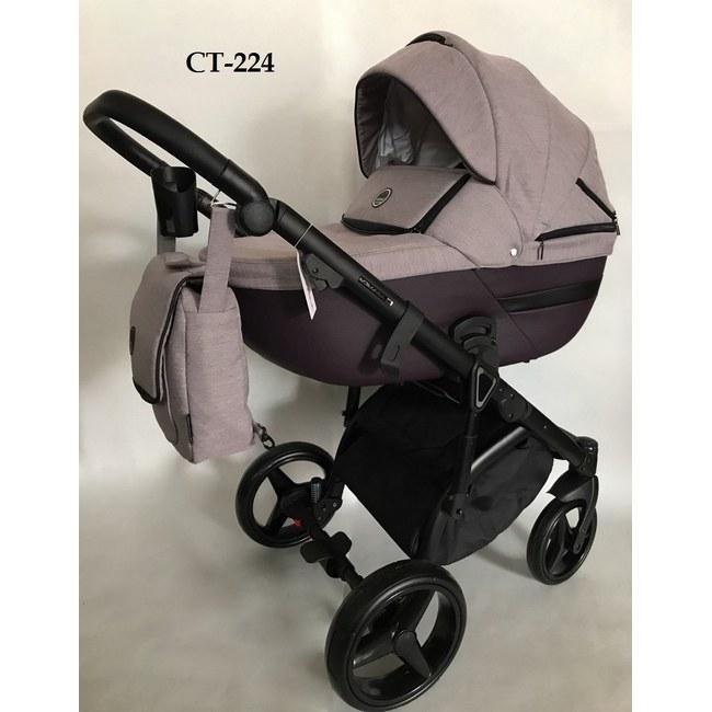 Детская модульная коляска Adamex Cortina 3 в 1