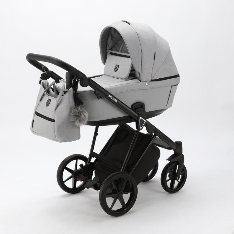Детская модульная коляска Adamex Belissa-tip 2 в 1