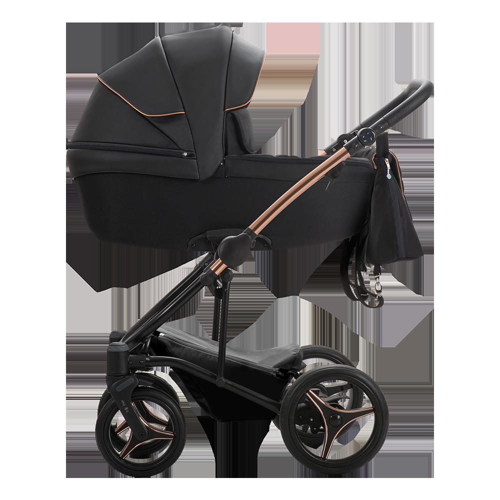Детская модульная коляска Bebetto Torino Si 3 в 1 (ЭКОКОЖА+ТКАНЬ)