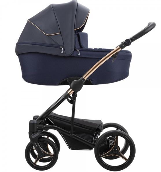 Детская модульная коляска Bebetto Torino Si 2 в 1 (ЭКОКОЖА+ТКАНЬ)