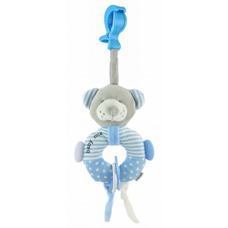 Подвесная игрушка BabyMix Мишка кольцо