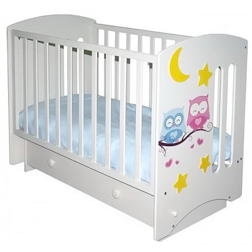 """Детская кроватка с маятниковым механизмом «Можгинский лесокомбинат» Софи 3 """"Совята"""" (премиум)"""