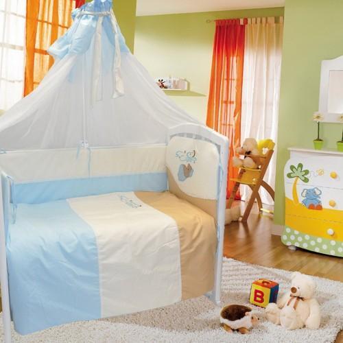 """Детское постельное белье Евротек """"Мишка под одеялом"""" 7"""