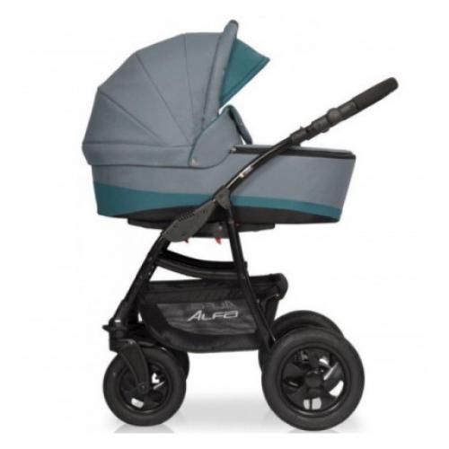 Детская модульная коляска Riko Alfa 3в1