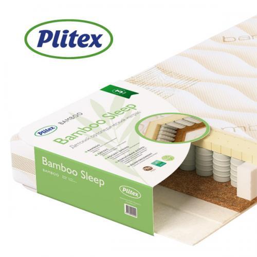 Детский ортопедический матрас Plitex Bamboo sleep 125*65