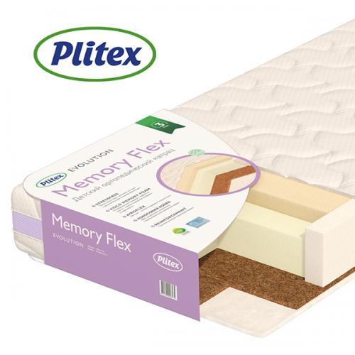 Детский ортопедический матрас Plitex Memory Flex