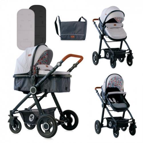 Детская коляска-трансформер Lorelli Alexa 3 в 1