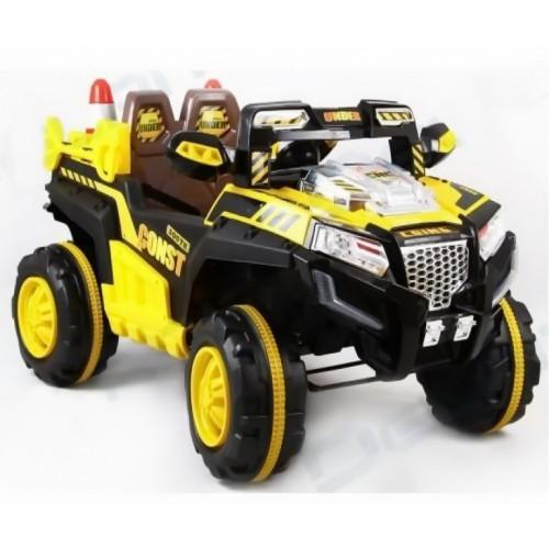 Детский электромобиль Джип (дорожные работы)