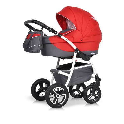 Детская модульная коляска Riko Angelo New 3 в 1