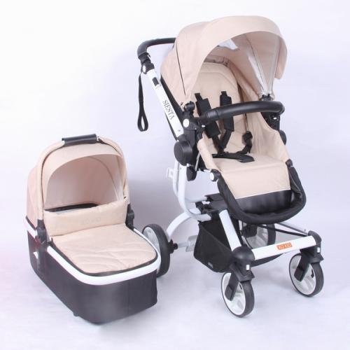 Детская модульная коляска XO-Kid Siesta 2 в 1