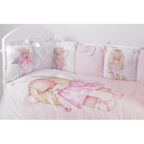 Комплект детского постельного белья Топотушки Принцесса Фей 6 предметов
