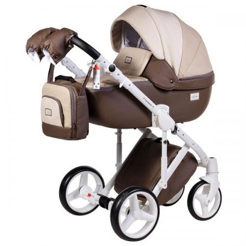 Детская модульная коляска Adamex Luciano Deluxe 2 в 1