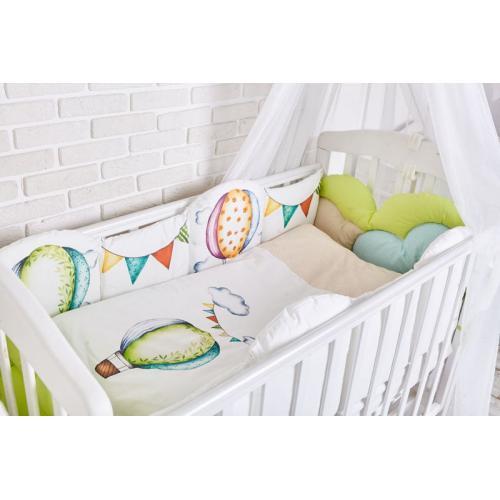 Комплект детского постельного белья Топотушки Воздушные шары 6 предметов
