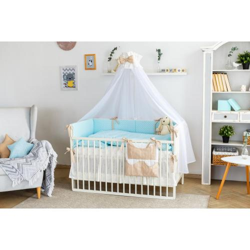 Комплект постельного белья Martoo Basik-Comfy 7 предметов с органайзером