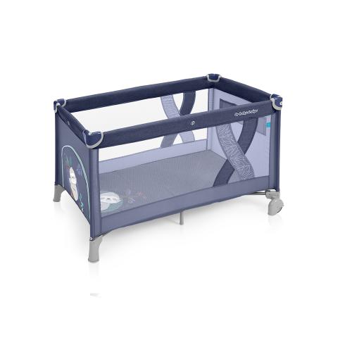 Детский манеж-кроватка Baby Design Simple 2019