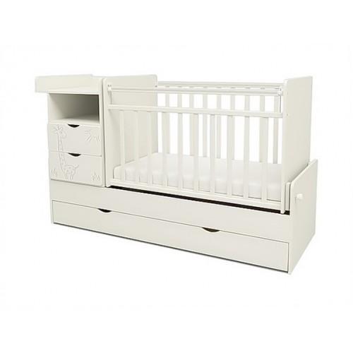 Детская кроватка-трансформер СКВ 550041