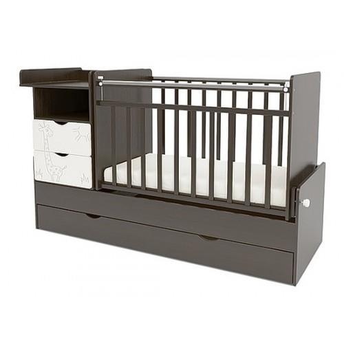 Детская кроватка-трансформер СКВ 550038-1