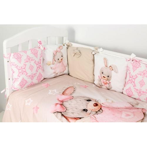 Комплект детского постельного белья Топотушки Ми-Ми-Ми 6 предметов