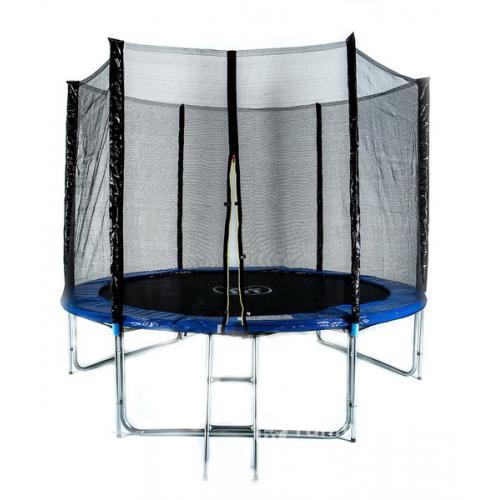 Комплект батут Trampoline Fitness 10FT-Exstreme с сеткой и лестницей