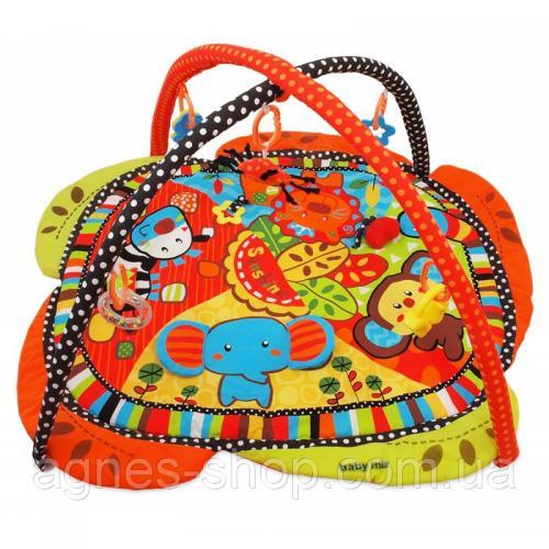 Детский игровой развивающий коврик BabyMix Сафари Арт. 3329